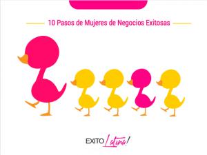PASOS DE MUJERES DE NEGOCIOS EXITOSAS